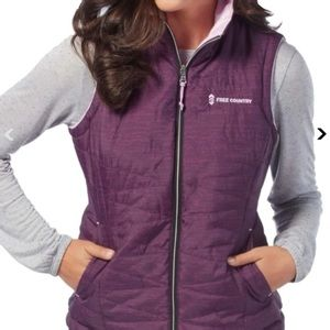 Free Country Highland Cloud Lite Reversible Vest S